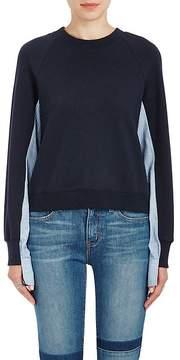 Derek Lam 10 Crosby Women's Layered-Look Sweatshirt