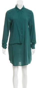 Chalayan Draped Button-Up Shirtdress w/ Tags