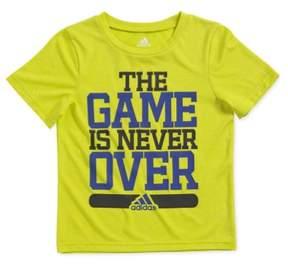 adidas Boys Never Over Graphic T-Shirt