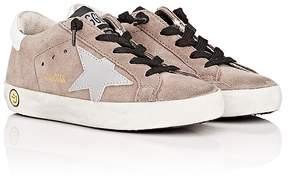 Golden Goose Deluxe Brand Kids' Superstar Suede Sneakers