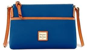 Dooney & Bourke Pebble Grain Ginger Pouchette Shoulder Bag - OCEAN - STYLE