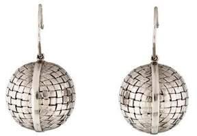 Bottega Veneta 18K Short Sfera Drop Earrings