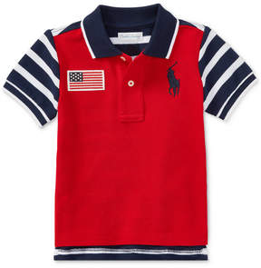 Polo Ralph Lauren Ralph Lauren Cotton Polo Shirt, Baby Boys