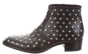 Saint Laurent Studded Leather Boots