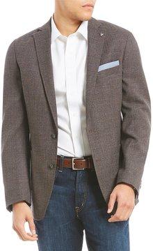 Daniel Cremieux Solid Wool Hopsak Blazer