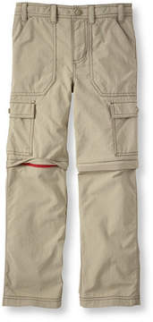 L.L. Bean Boys' Trekking Zip-Off Pants