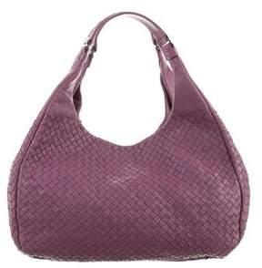 Bottega Veneta Intrecciato Campana Bag