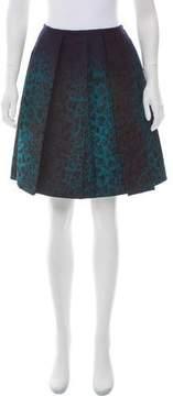 Aquilano Rimondi Aquilano.Rimondi Cheetah Jacquard Knee-Length Skirt w/ Tags