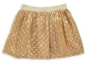 Imoga Toddler's & Little Girl's Metallic Tulle Skirt