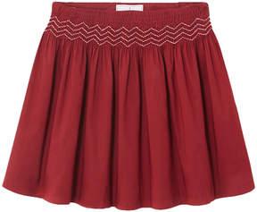Jacadi Orthographe Shirred Skirt