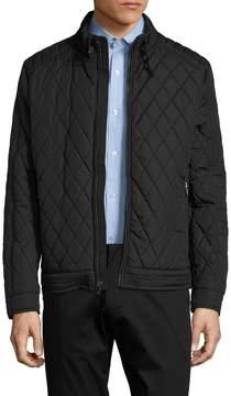 Hart Schaffner Marx Men's Marlon Quilted Moto Jacket