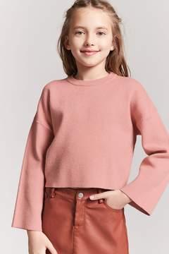 Forever 21 Girls Kimono Sleeve Sweater (Kids)