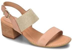 Børn Opal Leather Stretch Dress Sandal