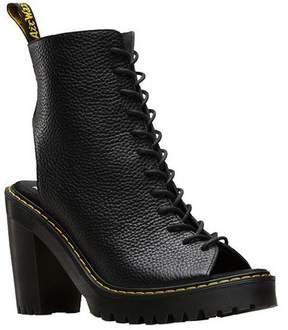 Dr. Martens Women's Carmelita Open Heel Lace Up Boot