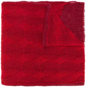Maison Margiela loose knit scarf