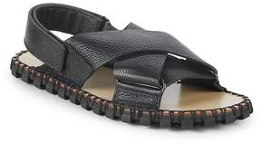 Valentino Men's Classic Leather Slingback Sandals