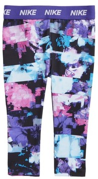 Nike Infant Girl's Dri-Fit Print Leggings
