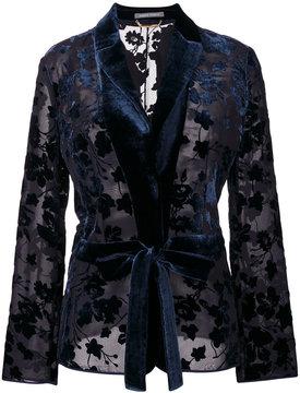 Alberta Ferretti embroidered blazer