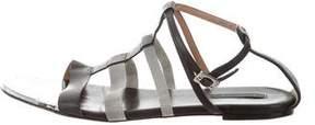 Rachel Zoe Leather Multistrap Sandals