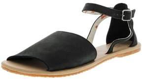 Vans Women's Ankle-Hi Leila Hurst Black Leather Sandal - 10M