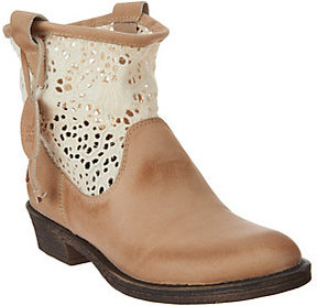 Coolway Flavia Crochet Western Boots