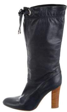 Marc Jacobs Round-Toe Mid-Calf Boots