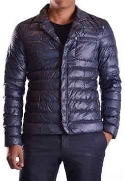 Geospirit Men's Blue Polyester Down Jacket.