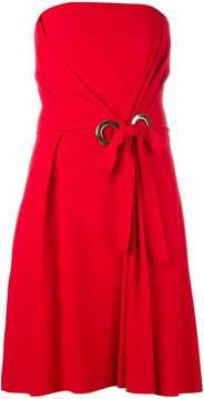 Alberta Ferretti strapless dress