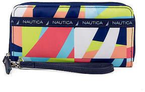 Nautica Captain's Quarters Zip-Around Wristlet