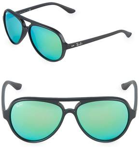Ray-Ban Women's Round Mirrored Sunglasses