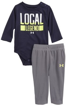 Under Armour Infant Boy's Local Legend Bodysuit & Pants Set