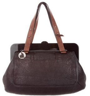 Lanvin Leather Frame Bag