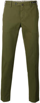 Pt01 tapered cropped trousers