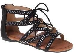 KensieGirl Strappy Tie Sandals.