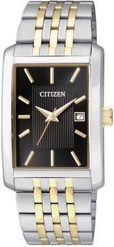 Citizen Men's Two-Tone Stainless Steel Bracelet Watch 38mm BH1678-56E