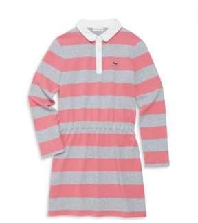 Lacoste Toddler's, Little Girl's & Girl's Striped Cotton Dress