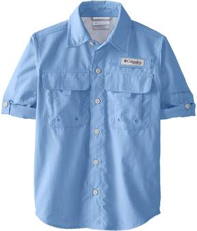 Columbia Kids Bahamatm L/S Shirt Boy's Short Sleeve Button Up