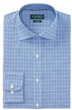 Lauren Ralph Lauren Classic-Fit Plaid Cotton Dress Shirt
