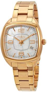 Fendi Momento Mother of Pearl Dial Ladies Rose Gold-Tone Watch