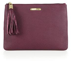 GiGi New York All-In-One Pebbled Leather Clutch