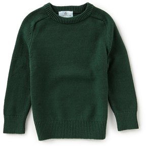 Class Club Little Boys 2T-7 Long-Sleeve Solid Sweater