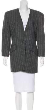 Christian Dior Wool Striped Blazer