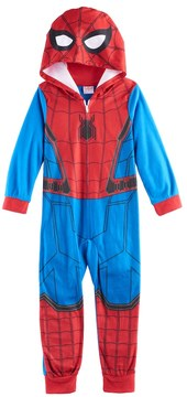 Marvel Boys 4-10 Spider-Man Union Suit