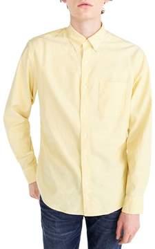 J.Crew Classic Fit Stretch Pima Cotton Oxford Shirt
