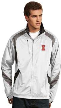 Antigua Men's Illinois Fighting Illini Tempest Desert Dry Xtra-Lite Performance Jacket