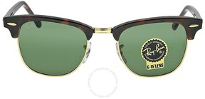 Ray-Ban Clubmaster Tortoise 49 mm Sunglasses RB3016-W0366-49