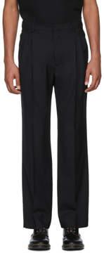 Cmmn Swdn Black Jay Double Pleat Trousers