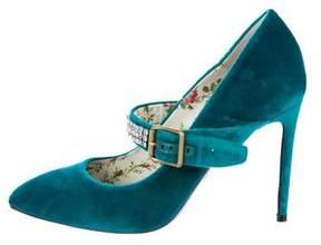 Gucci Sylvie Mary Jane Pumps