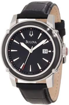 Bulova Men's 98B160 Round Stainless Steel 44mm Watch