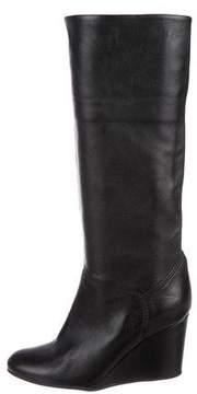Cordani Leather Knee-High Boots